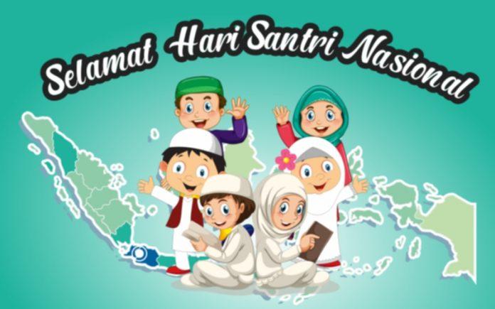 Hari Santri Nasional (Ilustrasi: aljayusnadi.com)