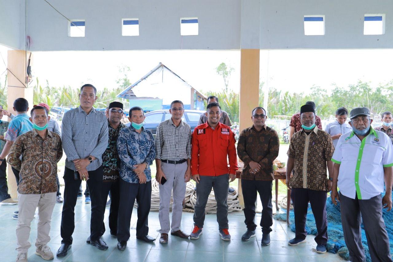 Bersama Tgk. Abrar Muda dan Anggota DPRK Aceh Selatan