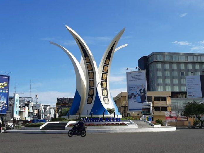 Simpang Lima Banda Aceh (Fhoto:Detiknews)